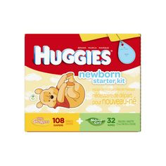 Stock up on gentle care for your little hunny. This HUGGIES newborn gift set box featuring Winnie the Pooh comes with HUGGIES Little Snugglers Diapers & HUGGIES Natural Care baby wipes, lotion and body wash to complete the set.