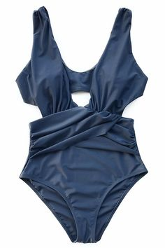 4535bd95f9 Cupshe Endless Love V-neck One-piece Swimsuit