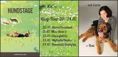 Ein Ausflug der anderen Art: Hundstage präsentiert sich vom 20.-24.10. bei einer großen Blogtour. Mitmachen lohnt sich!