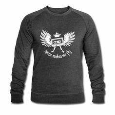 Tonony.com | ✫ ELECTRO ✫ T-Shirt ✫     - Männer Bio-Sweatshirt von Stanley