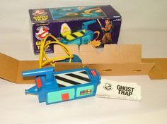 % 1986 KENNER THE REAL GHOSTBUSTER GHOST TRAP  IN ORIGINAL BOX #Kenner