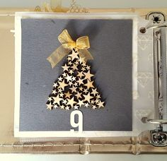 Picture 1 of December Daily Day 9 by seleapi December Daily, Daily Day, Christmas Journal, Christmas Scrapbook, Christmas Projects, Christmas Deco, Xmas, Project Life, Mini Albums