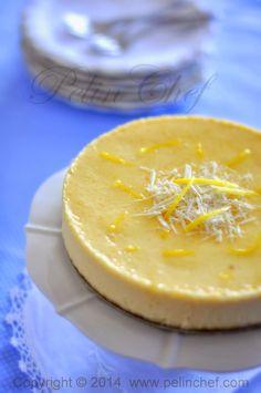 PelinChef: Beyaz çikolatalı limonlu cheesecake