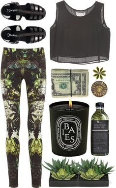 """""""Thyme"""" by purite ❤ liked on Polyvore"""