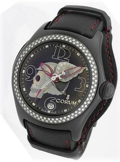 Corum Bubble Skull #luxurywatch #Corum-swiss Corum Swiss Watchmakers watches #horlogerie @calibrelondon