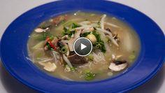Thaise kokos-kippensoep - recept | 24Kitchen