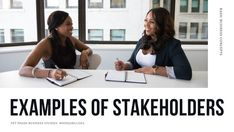 Click here to read about the 6 Examples of Stakeholders and Their Importance in Business. The term 'Stakeholder' is used frequently in business, especially where Sustainability, Social Responsibility and Social Development are involved. There are two categories of stakeholders, internal stakeholders and external stakeholders. There are also different types of stakeholders within each category. Visit this article to on FET Phase Business Studies by Nonjabulo Tshabalala to learn more.