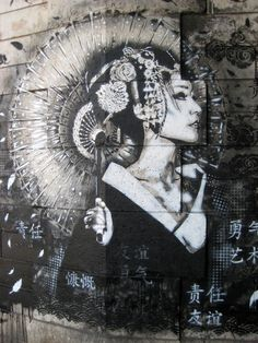 Street Art by Fin DAC - just love this one! So good. #Street art