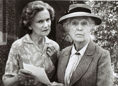 Agatha Christie filmpictures -2-: JOAN HICKSON as MISS MARPLE