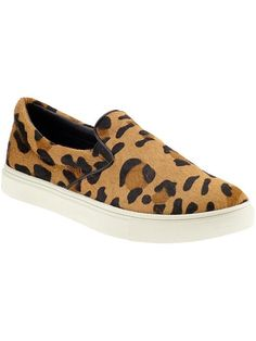Leopard slip-ons, the perfect summer essential.