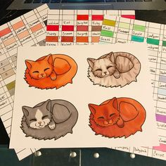 colored my sleeping cat digistamp, what version do you like the most? Want to color this yourself? check out this! www.etsy.com/shop/wyxzytdigistamp  #cat #stamp #art #coloring #coloringbook #coloringpage #stamp #digitalstamp #artist #promarker #markers #cat #kitten #cute #etsy