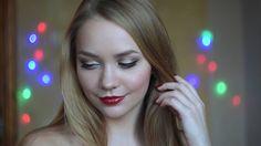 Классический вечерний макияж. Стрелки и красные губы