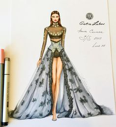 Inspired by the magnificent gown of Galia Lahav and Sharon Sever haute couture collection Spring…""