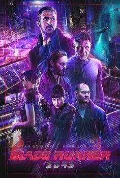 ArtStation - Blade Runner 2017 Alternative Poster, Khel Fetalino