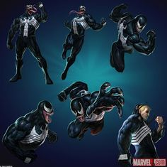 classic venom joins marvel puzzle quest game