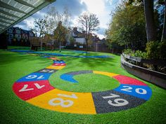 Playground with colours and numbers.