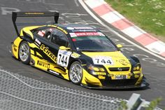 DTM Opel Astra V8 Coupe-VLN Lauf.2 34.DMV 4Stunden Rennen am 18.04.2009