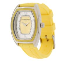 Product image of Liz Claiborne New York Embossed Silicone Strap Watch