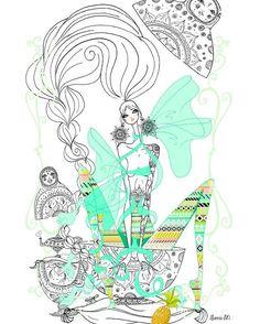 """44 Likes, 3 Comments - sonia menti (@sonia.menti) on Instagram: """".... #soniamenti #illustration #illustrator #fashion #fashionillustration #artistic #fashionart…"""""""