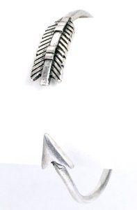 Sleek Silver Metal Archery Design Arrow Cuff Bracelet AMEX Jewelry. $7.99