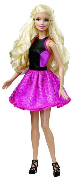 Barbie - Riza y peina el pelo de Barbie (Mattel): Amazon.es: Juguetes y juegos