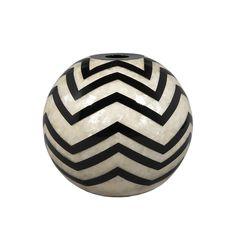 Storm Ball #bowl #vase #motherofpearl #contemporary #modernluxuryvases #luxurypieces #luxurydecor #homedecor #contemporary #exclusivedesign #interiordesign #design #decorativehome  #anavasconcelos
