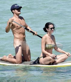 I started keeping a rough tally of images that appeared last week of people in various states of undress, includingOrlando Bloom in his birthday suit and baseball cap on his paddleboard