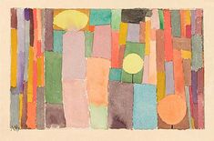 Paul Klee 'In the Kairouan Style, Transposed in a Moderate Way' 1914 Watercolor and pencil on paper on bristol board 5 x 8 Artist Inspiration, Painting, Illustration Art, Abstract Art, Art, Funny Art, Abstract, Paul Klee, Prints