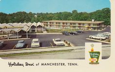 Holiday Inn - Manchester, Tennessee U.S. 41, 201 Murfreesboro Rd. Swimming Pool - Air-conditioned - Restaurant - Free TV - Free Holidex Reservations