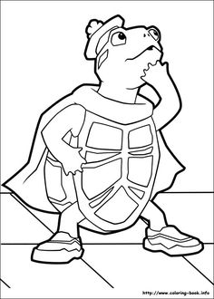 Wonder Pets coloring picture