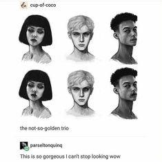 It's Pansy Parkinson, Draco Malfoy, and Blaise Zabini Fanart Harry Potter, Harry Potter Fandom, Harry Potter World, Harry Potter Memes, Hogwarts, Slytherin Pride, Ravenclaw, Drarry, Dramione