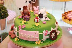 Baby Guide Festa Infantil: Festa 01 ano com tema: fazendinha para meninas