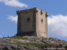 El castillo de Cocentaina. Es de finales del S. XIII