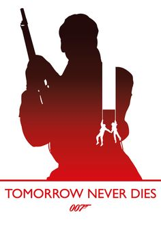 Tomorrow Never Dies, James Bond by Phil Beverley, via Behance