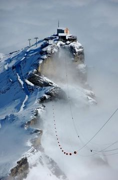 Above the Clouds Schilthorn Mountain, Switzerland