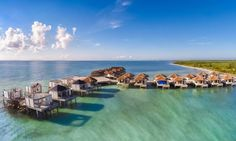 As if the luxury suites and villas in an adults-only setting in stunning Rivera Maya weren't alluring enough, El Dorado Maroma has topped itself with the addition of 58 over-water bungalows recently unveiled.  blisshoneymoons.com