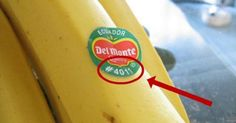 If you see this label on a fruit, do not buy it! - Diet and Nutrition Get Healthy, Healthy Tips, Healthy Recipes, Healthy Food, Health And Nutrition, Health And Wellness, Health Fitness, Nutrition Guide, Salud Natural
