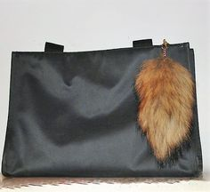 POM POMS Fox Tail KEYCHAIN Pom Pom Real Red Fox Tail Key Chain Fur Pom Poms Fox…