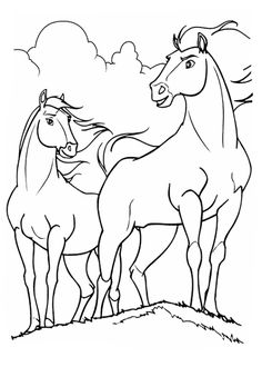 13 best spirit lucky disney malvorlagen images in 2019 | horse coloring pages, coloring book