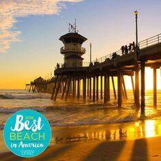 Best Beach in America Finalist Huntington Beach, California. Coastalliving.com