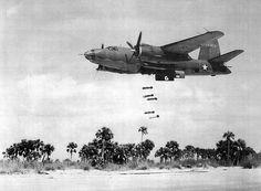 Hard to miss at that altitude (Martin B-26 Marauder)
