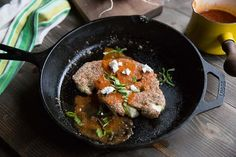 A steak without the meat! This quinoa-crusted cauliflower skillet steak will leave you just as satisfied.