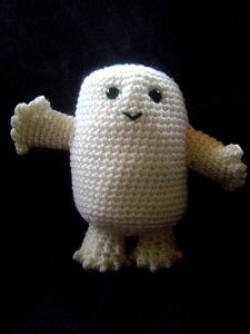 """Amigurumi """"Fat"""" Baby - Doctor Who Crochet Pattern!Other Dr Who patterns here too, this is just my favorite!"""