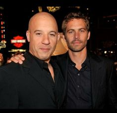 "By Wonderwall EditorsKeep reading for the stars' reaction to the death of ""Fast & Furious"" star Paul Walker.""Brother I will miss you very much. I am absolutely speechless. Heaven has gained a new Angel. Rest in Peace"" --Vin Diesel posted to his Instagram page along with this photo."