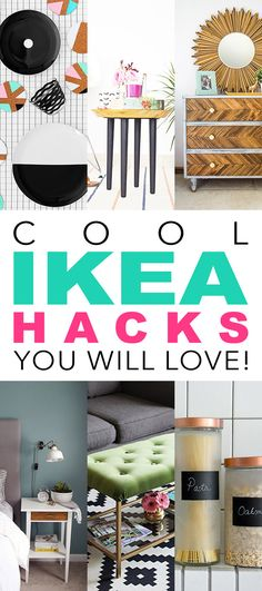 Cool IKEA Hacks /// You WIll Love! - The Cottage Market