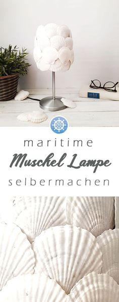 Easy to make maritime shell lamp yourself - upcycling & Ikeahack, with which . Make your own maritime shell lamp very easily – upcycling & Ikeahack, with which you can bring the holiday directly t Natural Wood Coffee Table, Shell Lamp, Interior Design Gallery, Upcycled Home Decor, Colorful Furniture, Beach House Decor, New Room, Decorating Your Home, Diy Projects