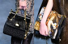 Check out our review and gallery of Dolce & Gabbana Fall 2012 Handbags!