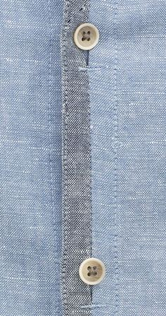 In-seam buttonhole
