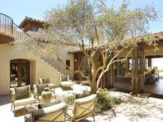 Courtyard Retreat : Meridian Interiors : Outdoor Spaces : Pro Galleries : HGTV Remodels