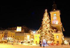 Christmas in Brasov Romania! Brasov Romania, San Francisco Ferry, Big Ben, Christmas, Xmas, Weihnachten, Navidad, Yule, Noel